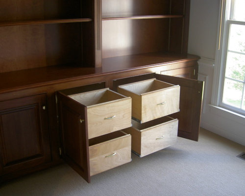 Built In File Cabinet Home Design Ideas, Pictures, Remodel and Decor