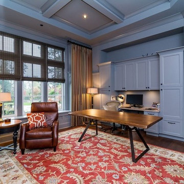 Rumson Luxury Estate Home Office