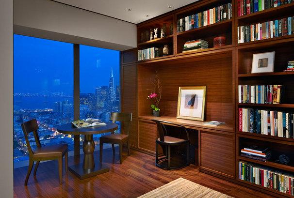 Contemporary Home Office by Zack de Vito Architecture + Construction