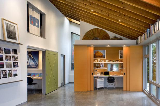 Contemporáneo Despacho by Cathy Schwabe Architecture
