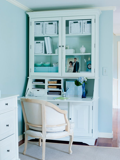 pottery barn home office design ideas, remodels & photos
