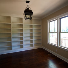 Craftsman Home Office by Gallup & LaFitte, Design-Build-Remodel
