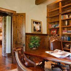 Eclectic Home Office by Vanguard Studio Inc.