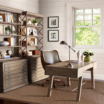 Rustic / Neutral Home Office