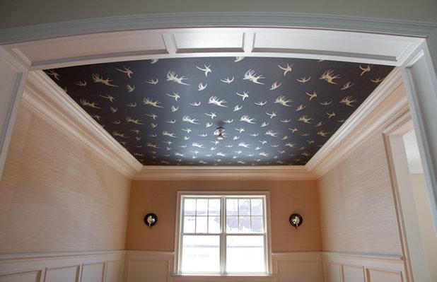 Si pu usare la carta da parati sul soffitto for Carta parati soffitto