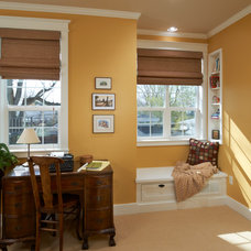 Traditional Home Office by Red Chair Designs