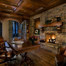 Traditional Home Office by Calvis Wyant Luxury Homes