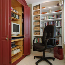 Traditional Home Office by Blackdog Design Build Remodel