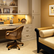 Traditional Home Office by Design InSite