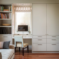 Contemporary Home Office by Gleason and Tankard