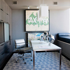 Contemporary Home Office by Eche Martinez