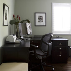 Traditional Home Office by Fiorella Design