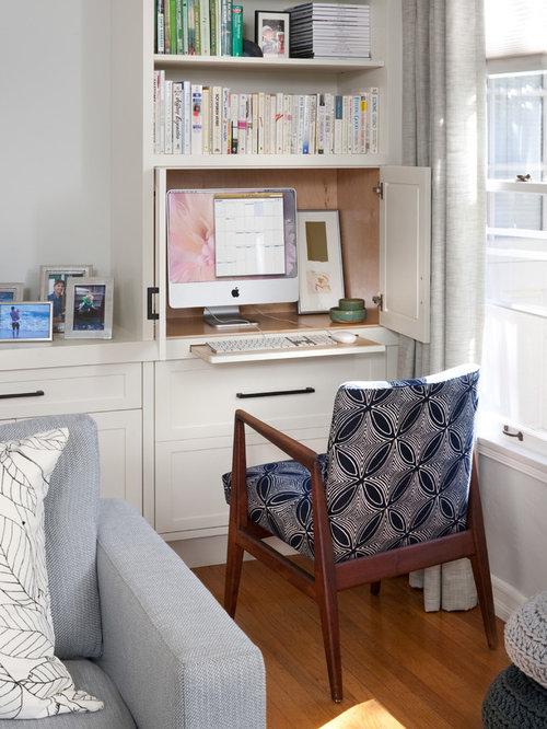 Prime Hidden Computer Desk Home Design Ideas Pictures Remodel And Decor Largest Home Design Picture Inspirations Pitcheantrous