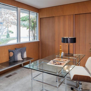 75 Beautiful Midcentury Modern Home Office Pictures U0026 Ideas ...