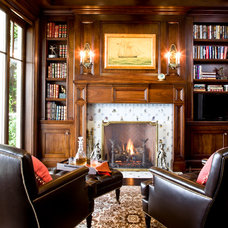 Traditional Home Office by Kathryne Designs, Inc