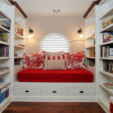 Traditional Home Office by Custom Design & Construction