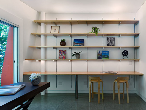 Modern Home Office by Kevin Daly Architects