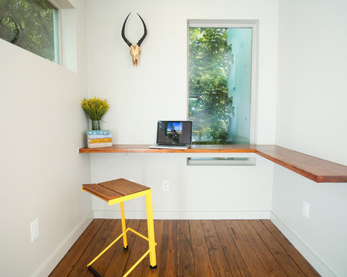 Best Minimalist Office Desk Design Ideas & Remodel Pictures | Houzz