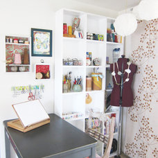 eclectic home office by Going Home To Roost