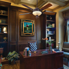 Traditional Home Office by Littman Bros Lighting