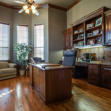 Traditional Home Office by Carmen Custom Homes