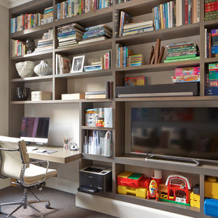 Scandinavian Home Office & Library