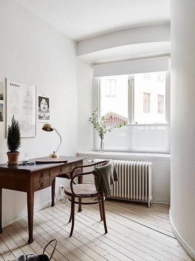 Skandinavisch Arbeitszimmer Scandinavian Home Office & Library