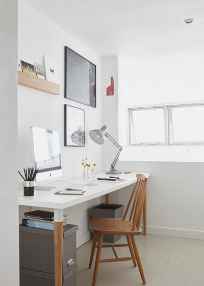 Scandinavian Home Office Scandinavian Home Office & Library