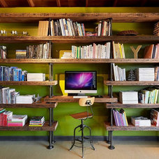 Industrial Home Office by SC Fabrication
