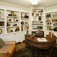 Traditional Home Office by The Schnicke Company