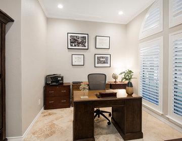 Scott Circle Kitchen & Living Room