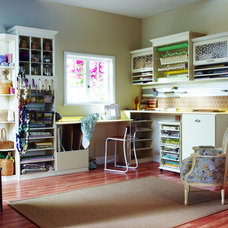 Traditional Home Office by California Closets HQ