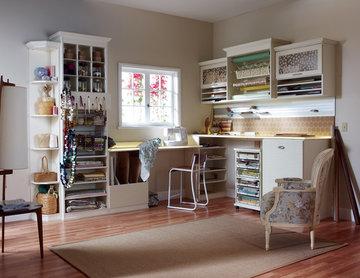 Scrapbookers Craft Room