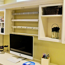 Traditional Home Office by Millennium Cabinetry