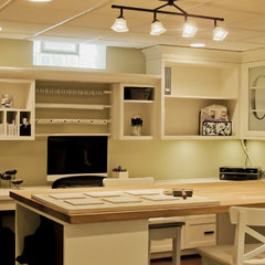 home office by Millennium Cabinetry
