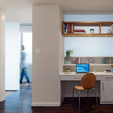 Modern Home Office by Moroso Construction