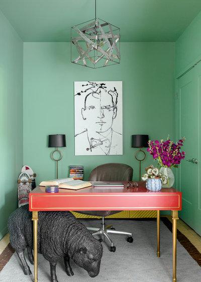 Eklektisch Arbeitszimmer by DANE AUSTIN INTERIOR DESIGN Boston & Cambridge