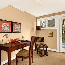Traditional Home Office by Seattle Staged to Sell and Design LLC