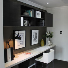 Contemporary Home Office by Orbit Homes