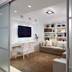 modern home office by Jonathon B. Myers, Inc.