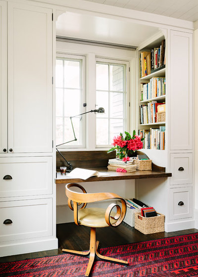 Arts & Crafts Home Office & Library by The Works