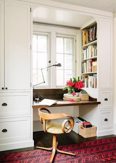 Amerikansk Craftsman Hjemmekontor by The Works
