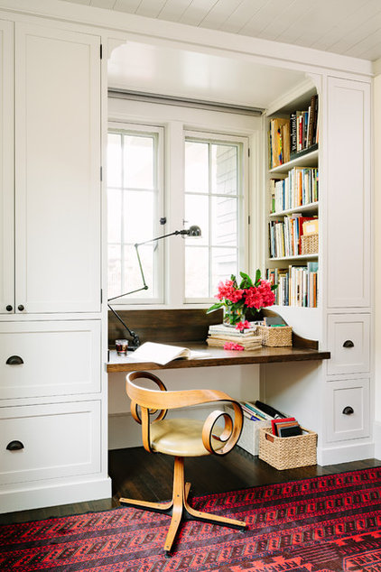 Craftsman Home Office by The Works
