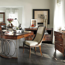 Traditional Home Office by Furnitureland South