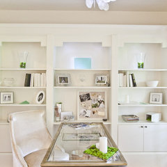 eclectic home office by Susan Hopkins