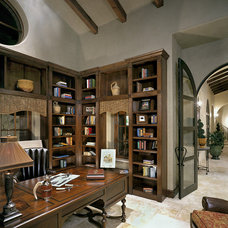 Traditional Home Office by Jon Luce Builder