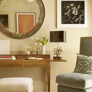 Inspiration for a timeless home office remodel in San Francisco