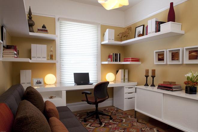 Contemporary Home Office by De Meza + Architecture
