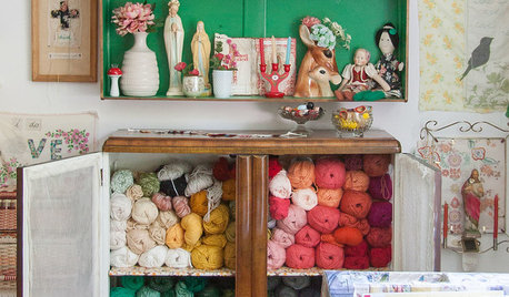 Get Sorted: The Joy of an Organised Craft Area