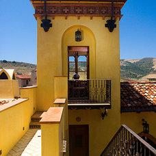 Mediterranean Home Office by Mark Reuter